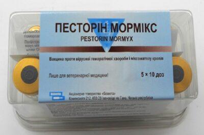 Песторин Мормикс-ветеринарный препарат